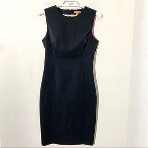Ted Baker Structured Sheath Dress Black